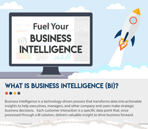Mockup of Business Intelligence guide