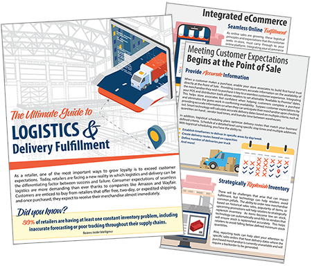 Mockup of Logistics and Delivery Fulfillment guide