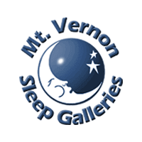 Mt. Vernon Sleep Galleries Logo